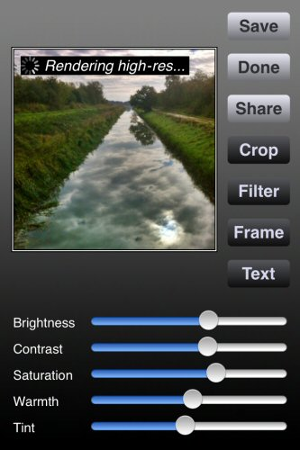 ProHDR - combines intelligently