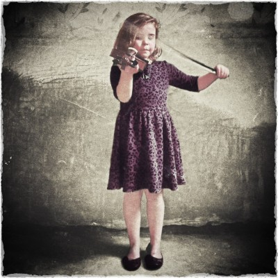 iPhoneography - violin girl