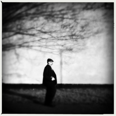 mobile photography - walking in shadows